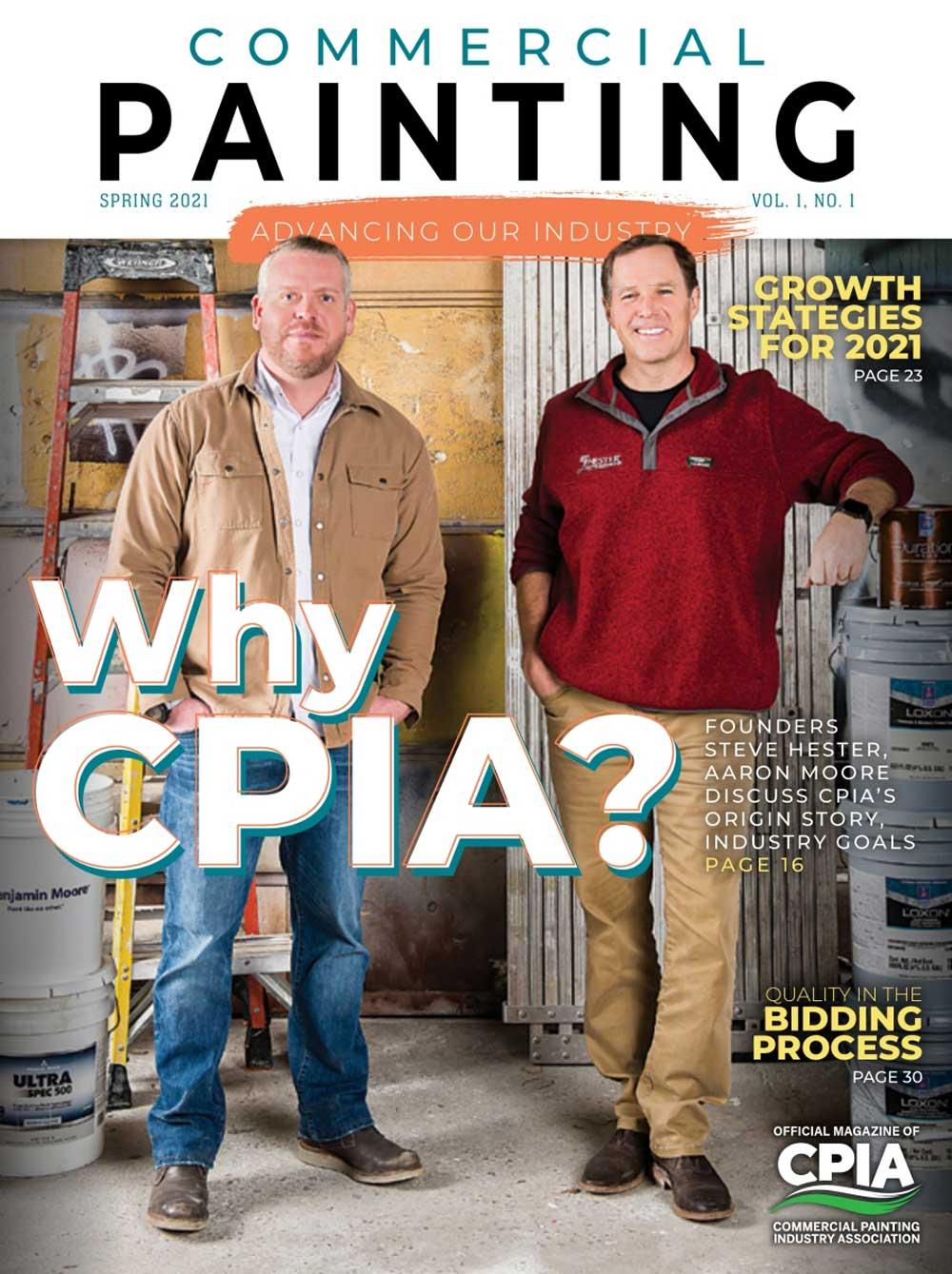 The CPIA Magazine Cover
